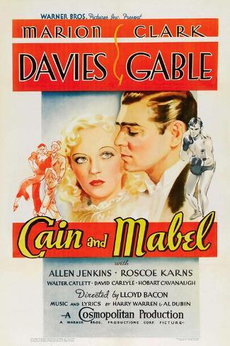 Cain and Mabel, 1936 Giclee-trykk