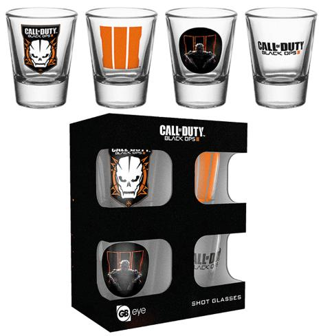 Call Of Duty Mix Shot Glass Set Sjove ting
