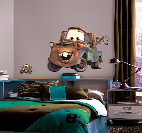 Cars - Mater Peel & Stick Giant Wall Decal Wallstickers