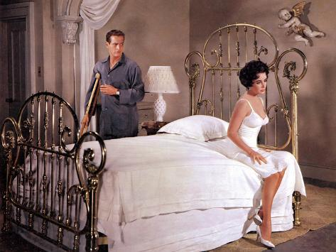 Cat on a Hot Tin Roof, Paul Newman, Elizabeth Taylor, 1958 Foto