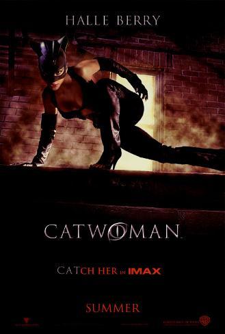 Catwoman Dobbeltsidig plakat