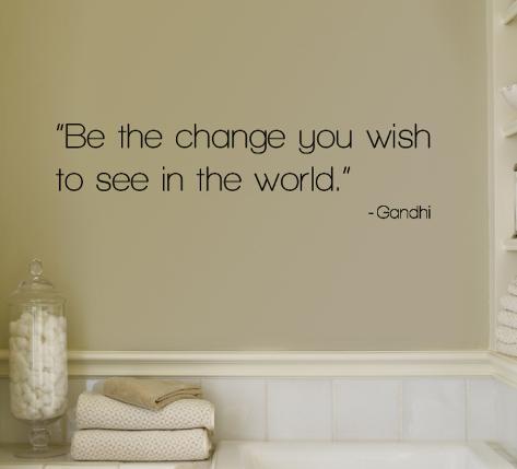 Change - Gandhi Veggoverføringsbilde