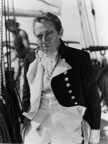 Charles Laughton: Mutiny on The Bounty, 1935 Fotografisk tryk