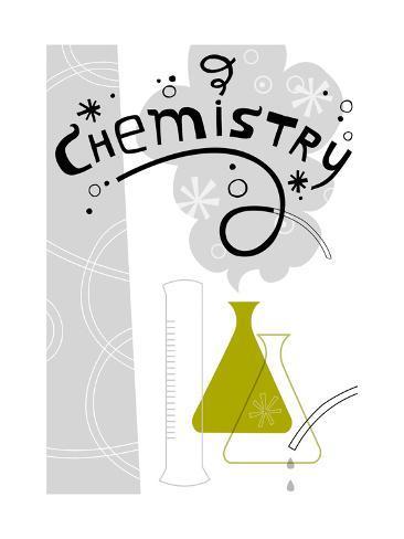 Chemistry Science Lab Kunsttryk