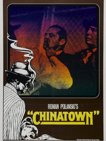 Chinatown, 1974 Giclee-trykk