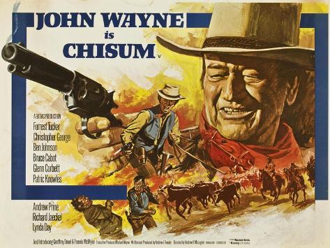 Chisum, 1970 Giclee-trykk