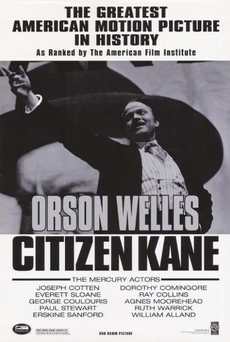 Citizen Kane Masterprint