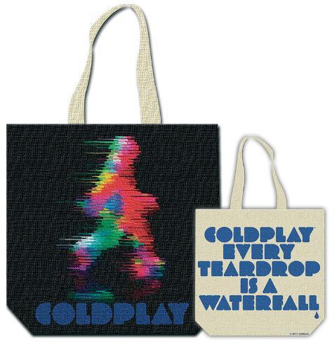 Coldplay - Fuzzy Man Indkøbstaske