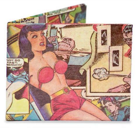 Comic Book Tyvek Mighty Wallet Pung