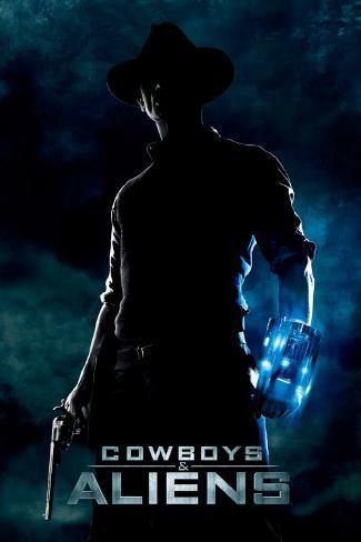 Cowboys & Aliens International Plakat