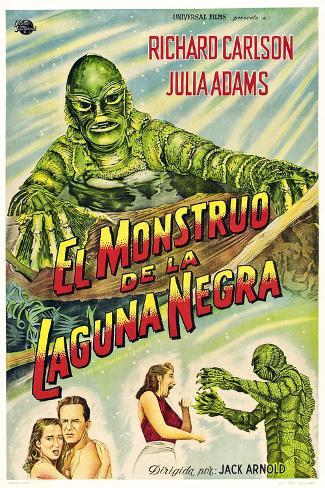 Creature from the Black Lagoon, 1954 Kunsttrykk