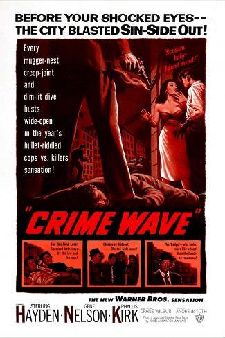Crime Wave Kunsttrykk