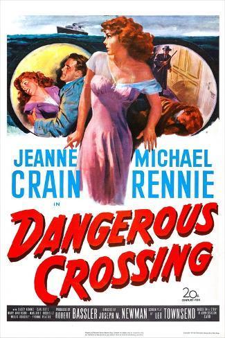 Dangerous Crossing Kunsttrykk