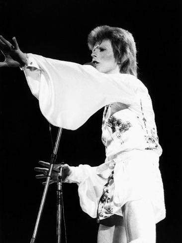 David Bowie, May 1973 Fotografisk tryk