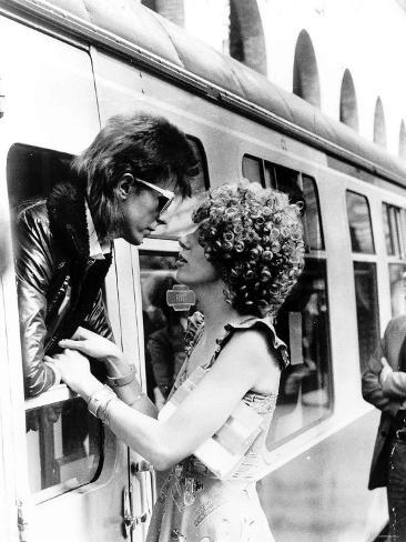 David Bowie Singer Actor Fotografisk trykk