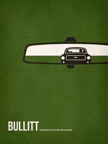 Bullitt Kunsttrykk