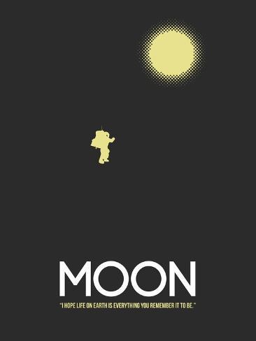 Månen Kunsttrykk