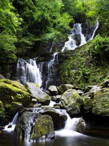 Torc Waterfall, Ireland Fotografisk trykk