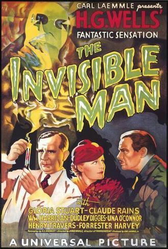 Den usynlige mann Plakat