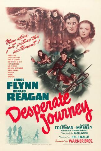 Desperate Journey, 1942 Kunsttryk