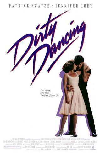 Dirty Dancing, på engelsk Masterprint