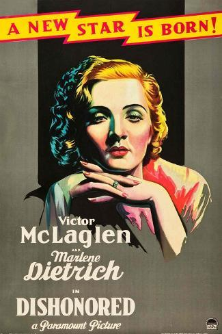 Dishonored, 1931 Giclee-trykk