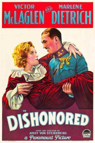 Dishonored, 1931 Giclee-trykk