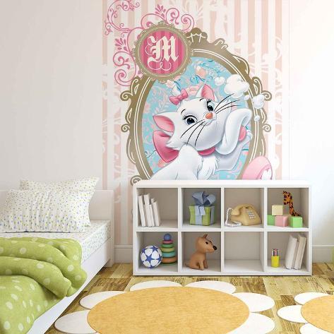 Disney Aristocats - Marie Vanity - Vlies Non-Woven Mural Ikke-vevd (vlies) tapetmaleri