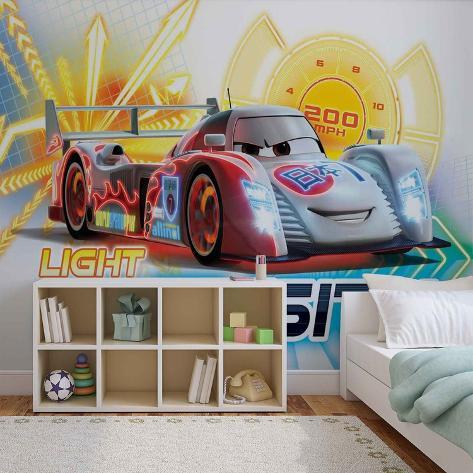 Disney Cars - Shu Todoroki - Vlies Non-Woven Mural Ikke-vevd (vlies) tapetmaleri
