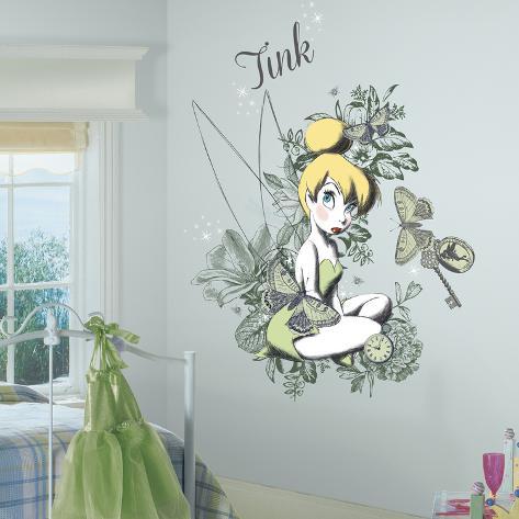 Disney Vintage Tinker Bell Veggoverføringsbilde