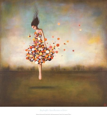 Uhæmmet blomstring, Boundlessness in Bloom Kunsttryk