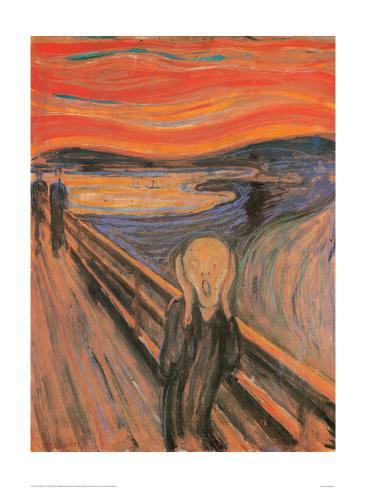 The Scream, 1893 Giclee-trykk