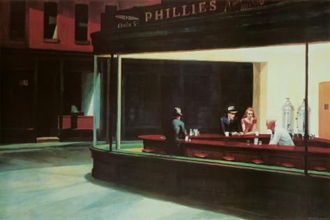 Natteravne, Nighthawks, ca. 1942 Plakat
