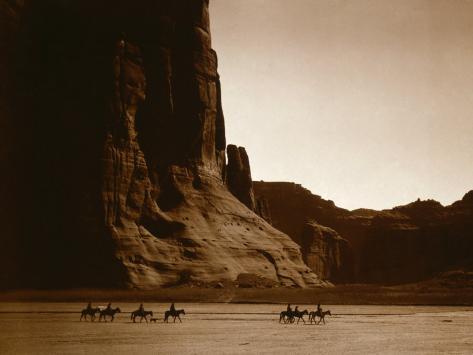Canyon de Chelly, Navajo Foto