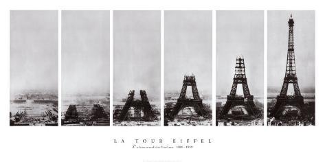 Eiffel-tårnet Kunsttrykk