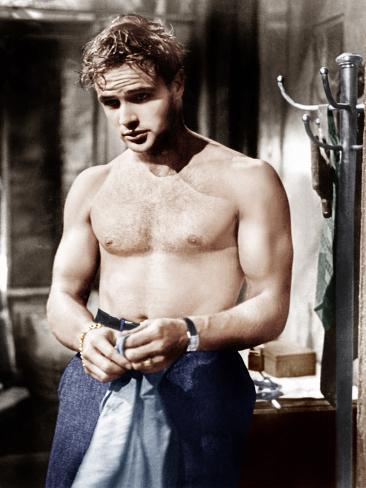 En sporvogn til begjær, Marlon Brando, 1951 Foto