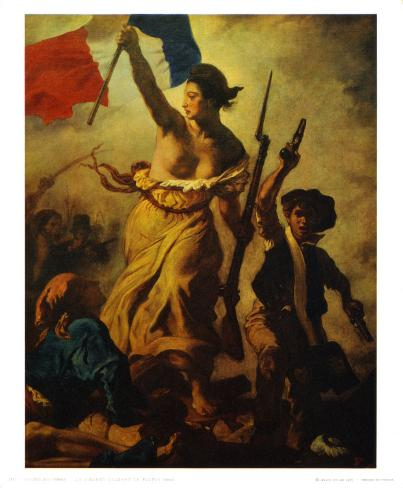Liberty Leading People Kunsttrykk