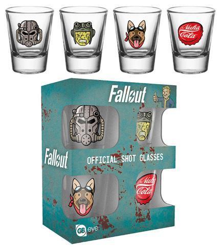 Fallout 4 - Icons Shot Glass Set Sjove ting