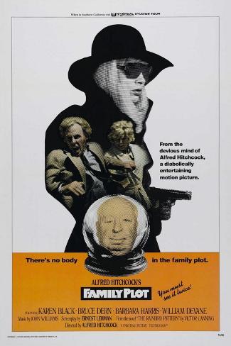 Family Plot, 1976 Giclée-tryk