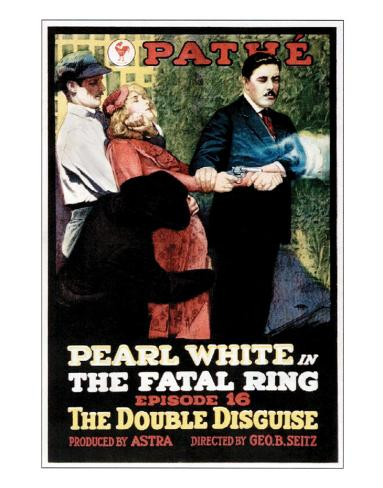 Fatal Ring - 1917 Giclee-trykk