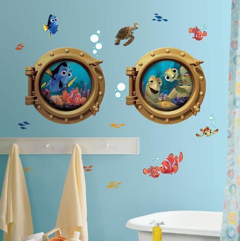 Finding Nemo Peel & Stick Giant Wall Decals Veggoverføringsbilde