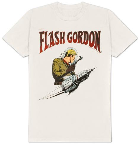 Flash Gordon -  Flash Rocket T-skjorte
