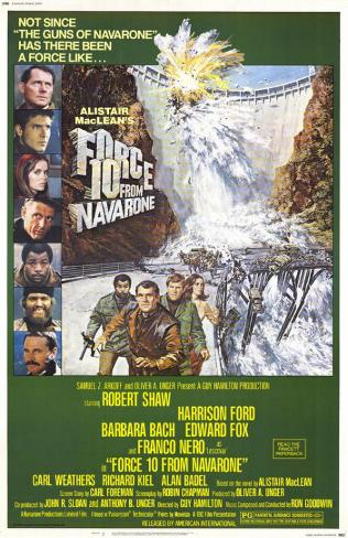 Force 10 From Navarone Masterprint
