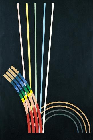 Music Is Like Painting Giclee-trykk