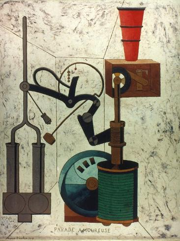 Picabia: Parade Giclee-trykk