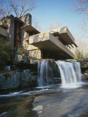 Fallingwater, State Route 381, Pennsylvania Foto