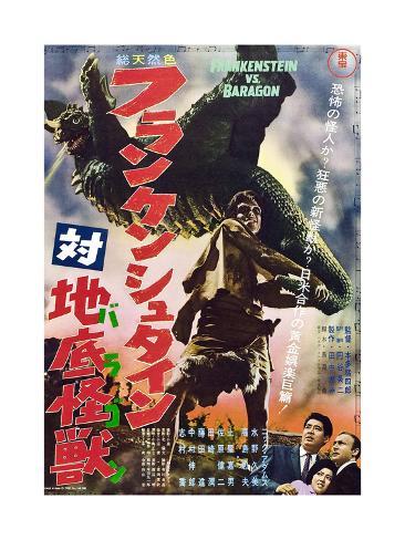 Frankenstein Conquers the World Kunsttryk