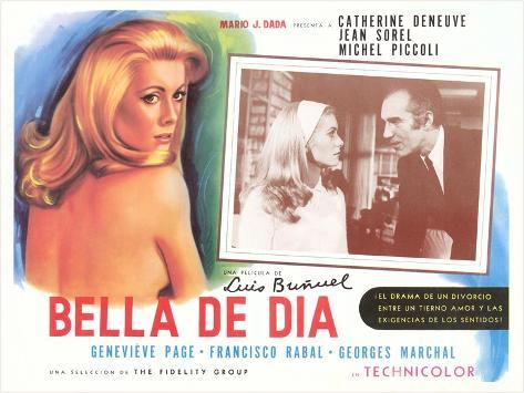French Movie Premium Giclee-trykk