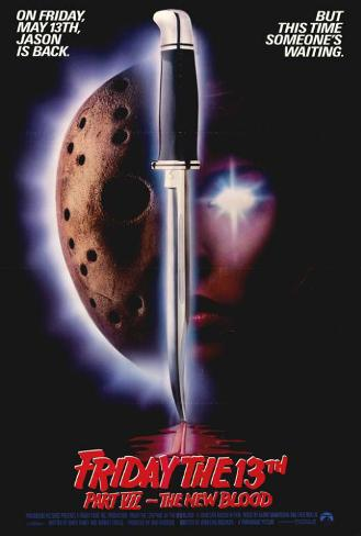 Friday the 13th Part 7 - The New Blood Plakat