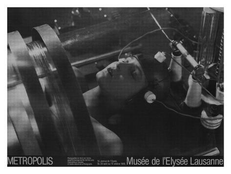 Fritz Lang's Metropolis, Musee de l'Elysee Lausanne Giclee-trykk